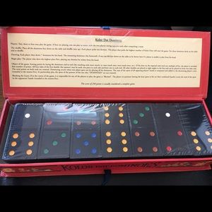 Other - Vintage Style Children's Dominos